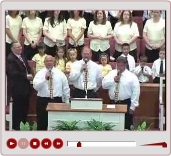 Bro. Chandler Boling, Bro. Mike Bunch and Bro. Samuel Allen and the Choir sing God Is Still Good
