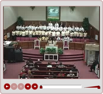 Sis. Ashley and Kirby Evans and the Choir sing Made By Mercy