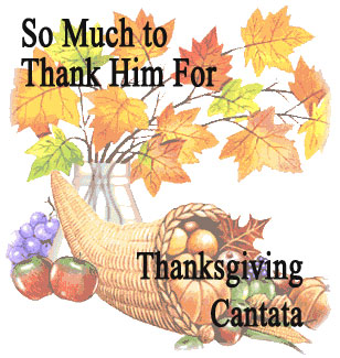 Thanksgiving Cantata